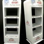 Evian Standee