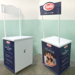 Barilla Wooden Promo Counter